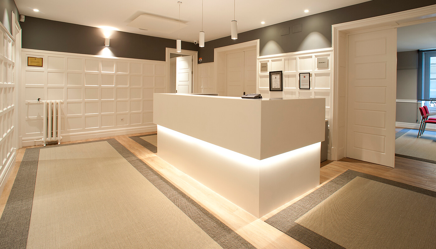 diseño de oficinas por Juan Luis Bilbao